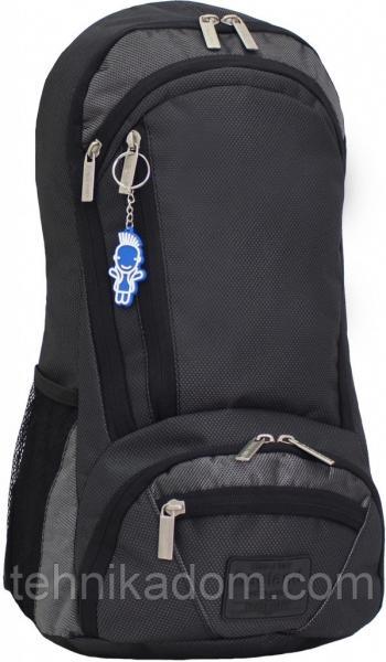 Украина Рюкзак для ноутбука Bagland Granite 23 л. черный /серебро (00120169)