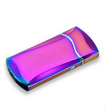 Электроимпульсная зажигалка SUNROZ F7 портативная электронная аккумуляторная USB зажигалка Хамелион (SUN0677)