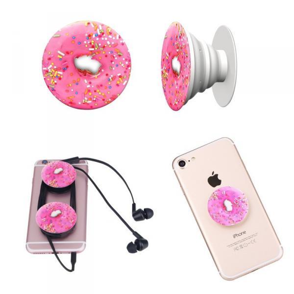 Универсальный держатель-подставка для телефона PopSockets (Присоска крепление для смартфонаПоп Сокетс) С81