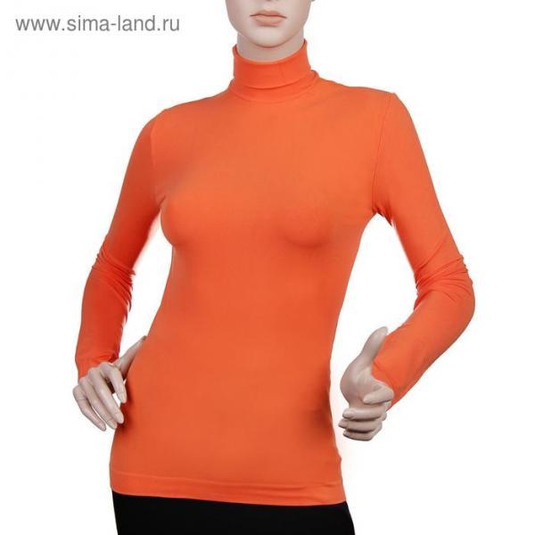 Водолазка женская бесшовная ARTG DOLCEVITA MANICA LUNGA (orange, S/M)