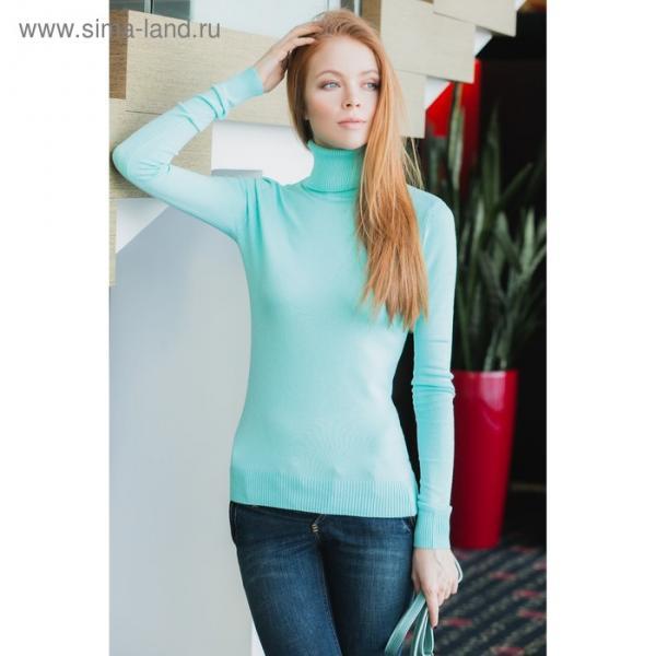 Свитер женский 40200320005 цвет св.зелёный, р-р 40 (XXS), рост 170 см