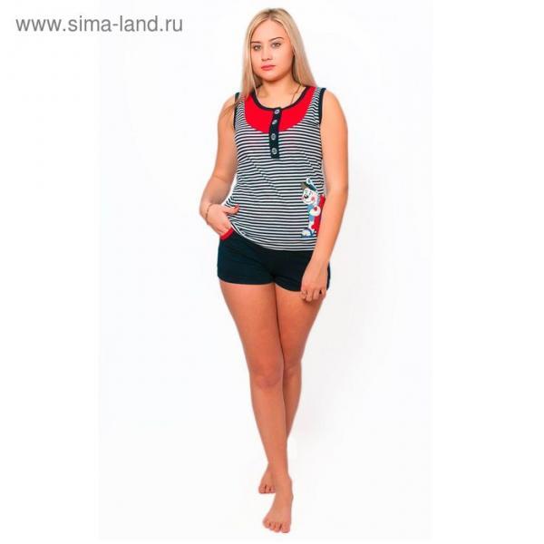 Комплект женский (майка, шорты) ТК-981 МИКС, р-р 42