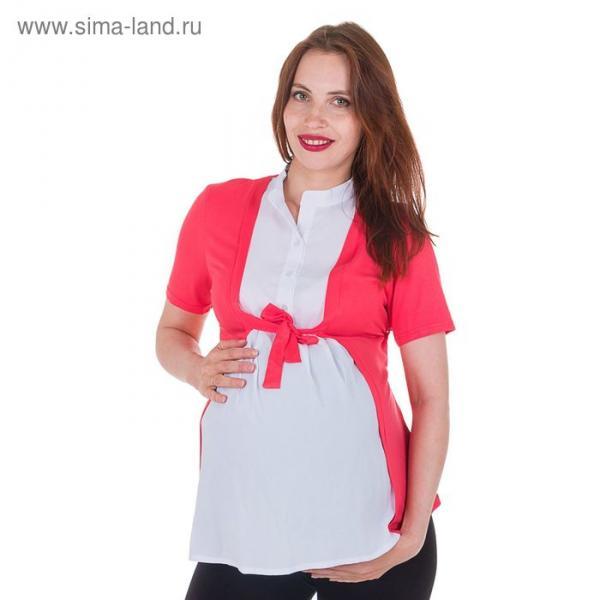 Блузка для беременных 2236, цвет арбуз, размер 44, рост 170