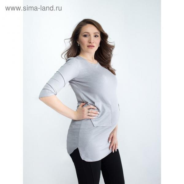 Блузка для беременных 2273, цвет бежевый, размер 46, рост 170