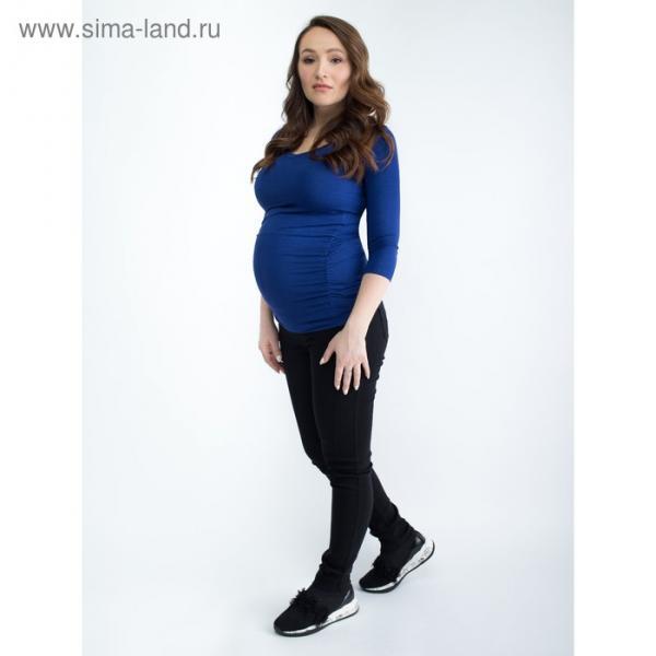 Топ для беременных, размер 40, рост 168 см, цвет темно-синий (арт. 371411613)
