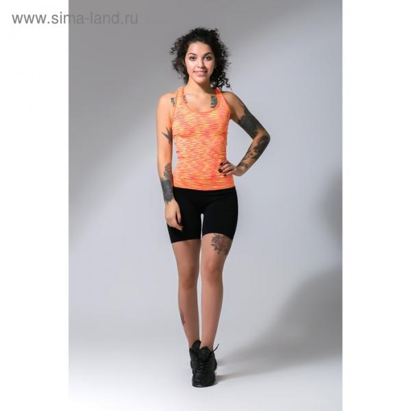 Спортивные шорты ONLITOP Fitness time, размер 42-44, цвет коралловый