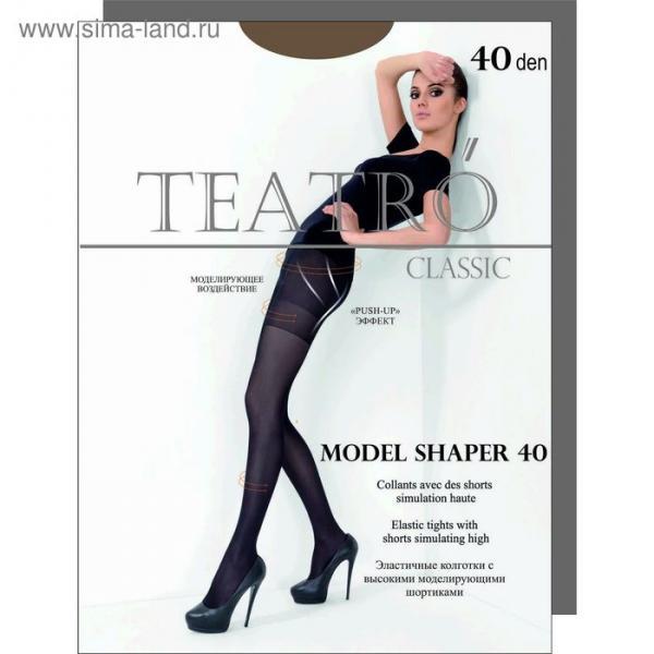 Колготки женские Model Shaper 40 den, цвет загар (daino), размер 2