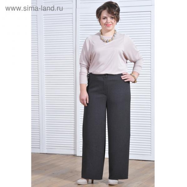 Брюки женские  5549 цвет серый, р-р 52, рост 164 см