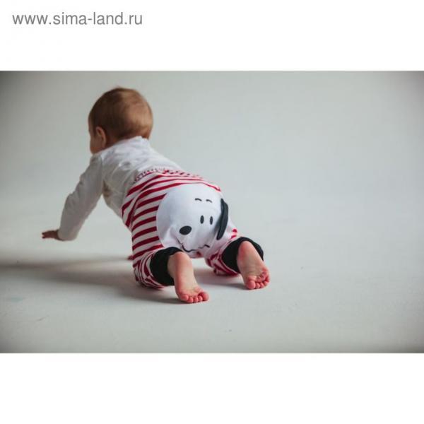 Штанишки для подгузников Yuumi Собачка, рост 80-86 см, цвет красный БрСобачка-200416_М