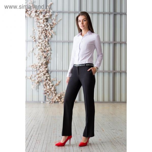 Брюки женские 5741, размер 40, рост 164 см, цвет чёрный