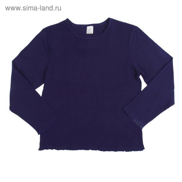 Джемпер для девочки, рост 110-116 см (32), цвет синий