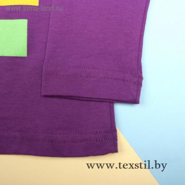 Фото Одежда и обувь, Женская одежда, Джемперы, толстовки Джемпер для мальчика, рост 116 см, цвет фиолетовый 170217