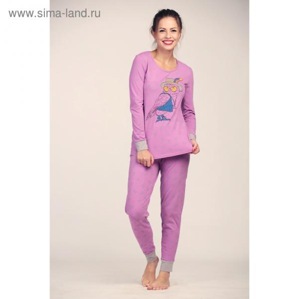 Комплект женский (джемпер, брюки) 4035 цвет пенка, р-р 50