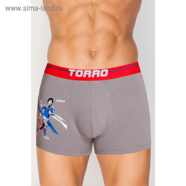Трусы мужские боксеры TMX7032 цвет серый (grey), р-р 52 (XL)