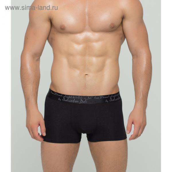 Трусы мужские боксеры SD2020-1 цвет чёрный, р-р 48-50 (L)