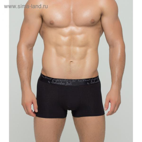 Трусы мужские боксеры SD2020-1 цвет чёрный, р-р 52-54 (2XL)