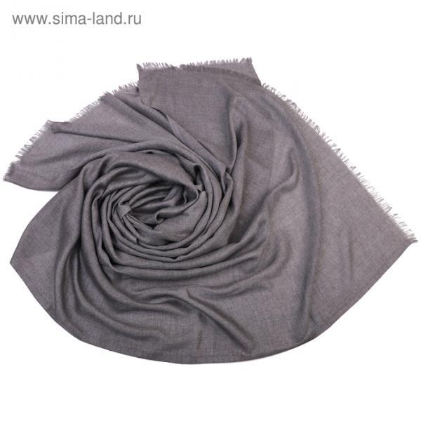 Палантин Тк310/2 цвет серый, р-р 70х180