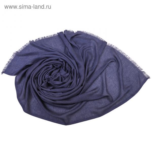 Палантин Тк310/5 цвет синий, р-р 70х180