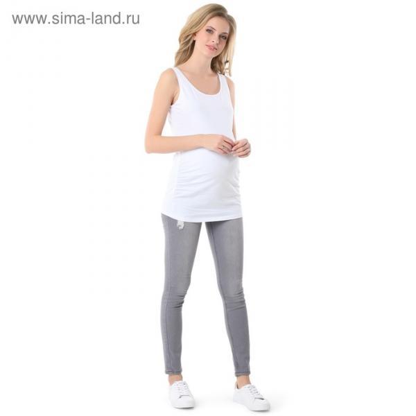 Майка для беременных 100775 цвет белый, р-р 46