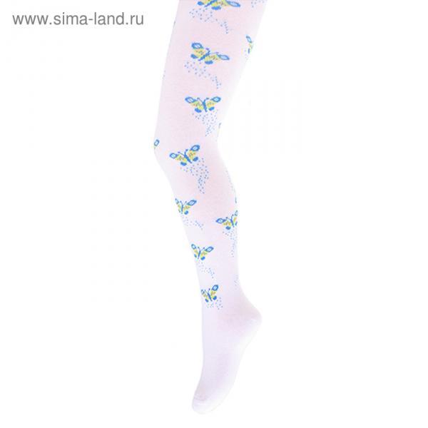 Колготки детские Giulia D007 KIDS, bianco, рост 110-116 см