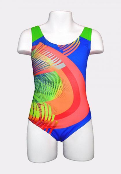 Спортивный детский купальник Keyzi Rainbow 140 Цветной Keyzi Rainbow