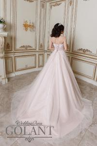 Фото Свадебные платья пляжное свадебное платье со шлейфом Карамель