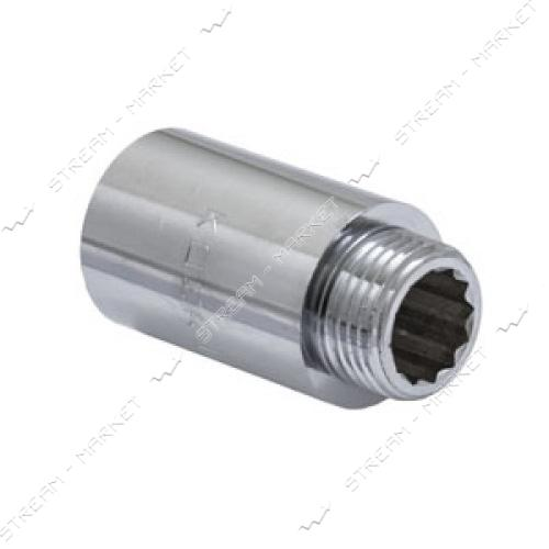 Удлинитель 1/2' 40мм хром KOER KF.E06-40.CHR