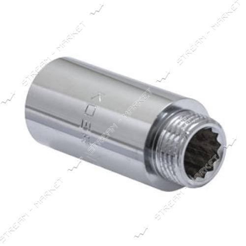 Удлинитель 1/2' 50мм хром KOER KF.E06-50.CHR
