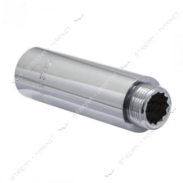 Удлинитель 3/4' 100мм хром KOER KF.E08-01.CHR