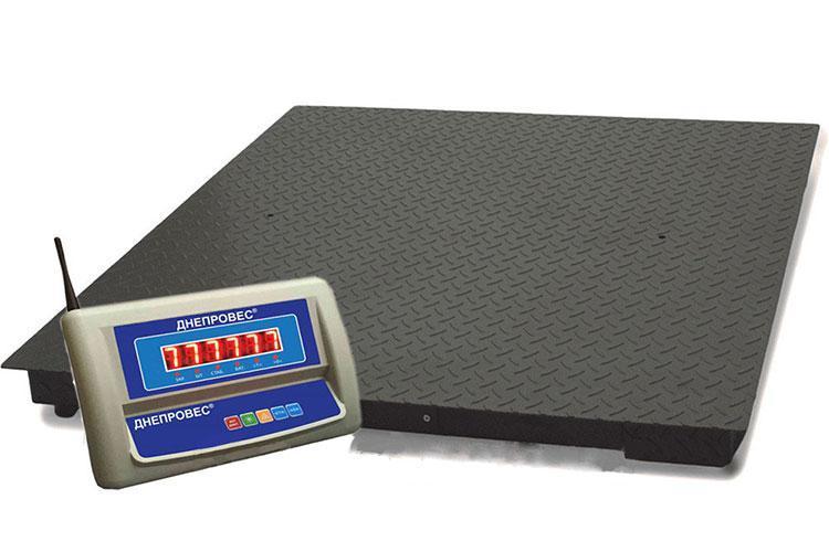 Весы ВПД-1010Р напольные беспроводные