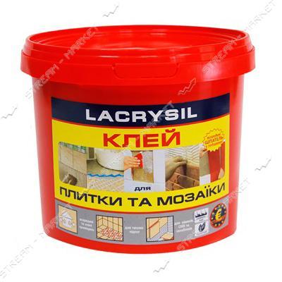 Клей акриловый для мозаики и плитки Lacrysil контактный 3кг