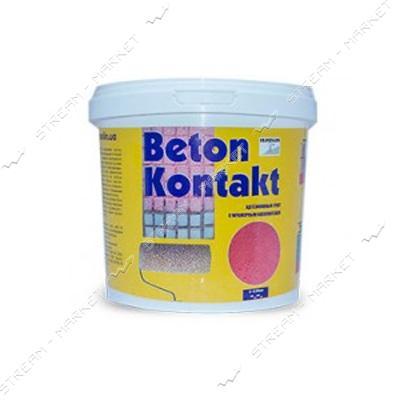 Грунт Бетон-контакт акриловый с мраморным наполнителем Ispolin 6кг