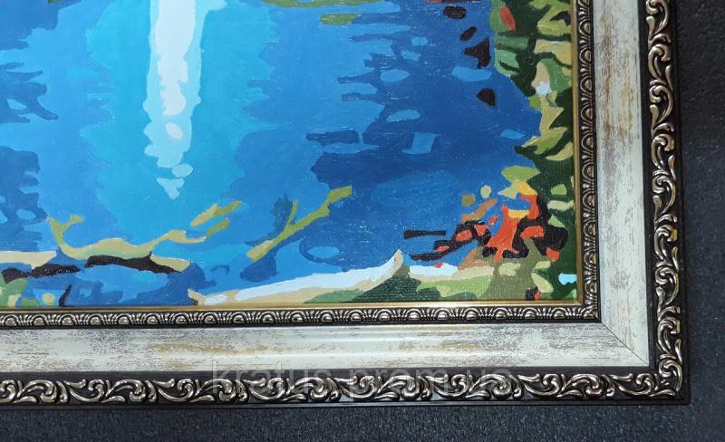 "Багеты (рамки) ""Мрамор"" для картин  размером 40х50см"