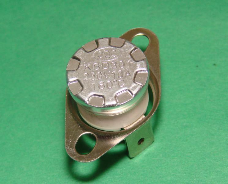 Термостат биметаллический KSD301 160 градусов