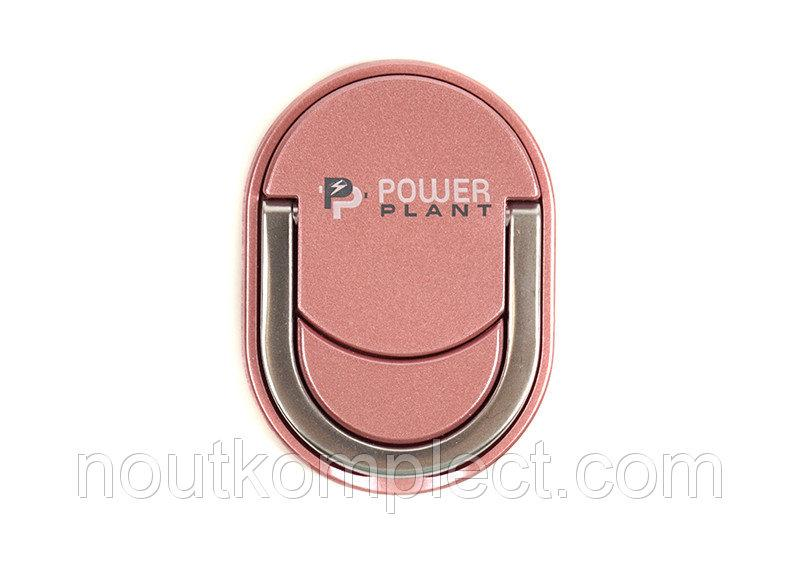 Кольцо держатель для смартфонов PowerPlant, розовое золото