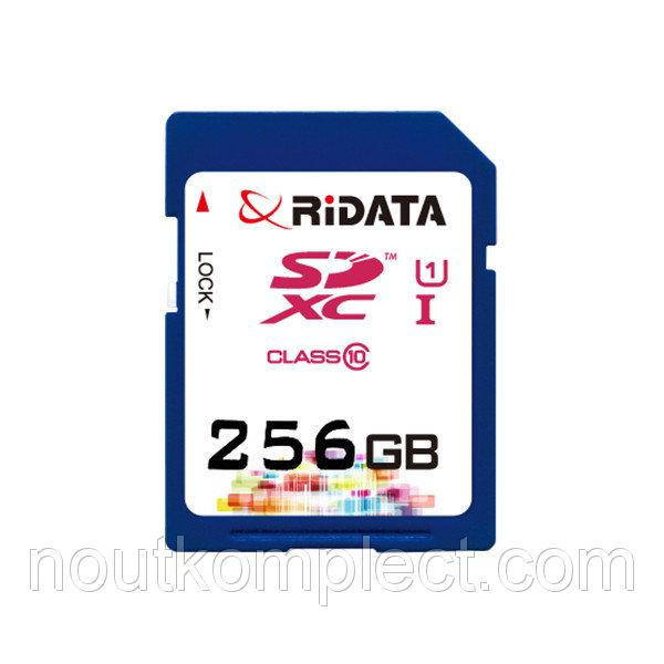 Карта памяти RiDATA SDXC 256GB Class 10 UHS-I