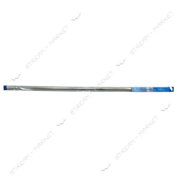 Карниз для ванной телескопический аллюминиевый серебро 140-250, Wella