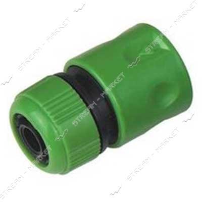 Коннектор без клапана зеленый 1/2' ws4326 Турция (только от упаковки 24 шт.)