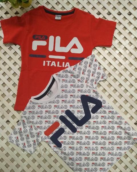 Детская футболка Fila мальчику на 98-152 128