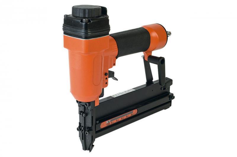 Степлер пневматический Miol - для скоб 10-40 мм и гвоздей 15-50 мм
