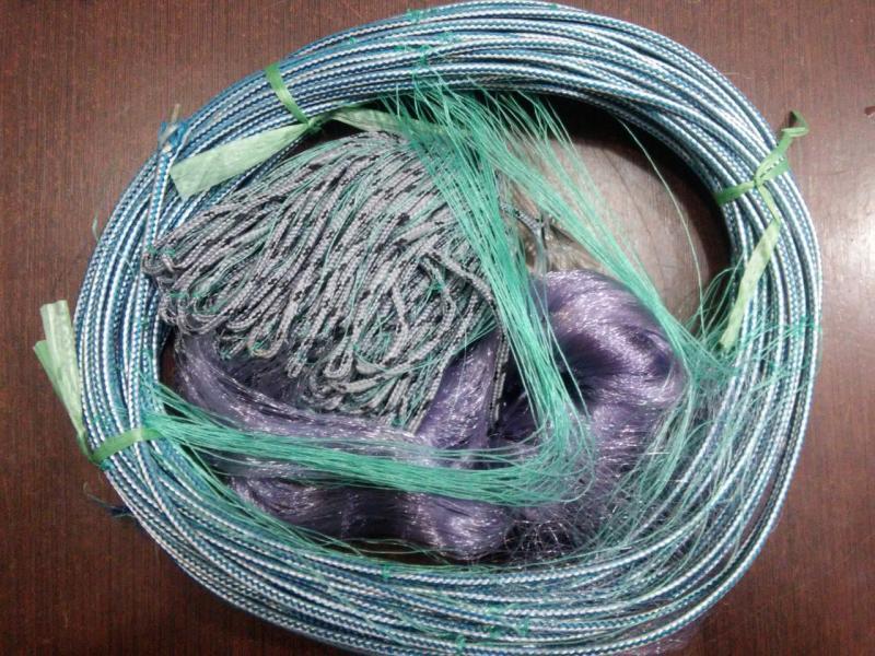 Рыболовная сеть Финка, (40,45 ячейки), трехстенная,для промышленного лова