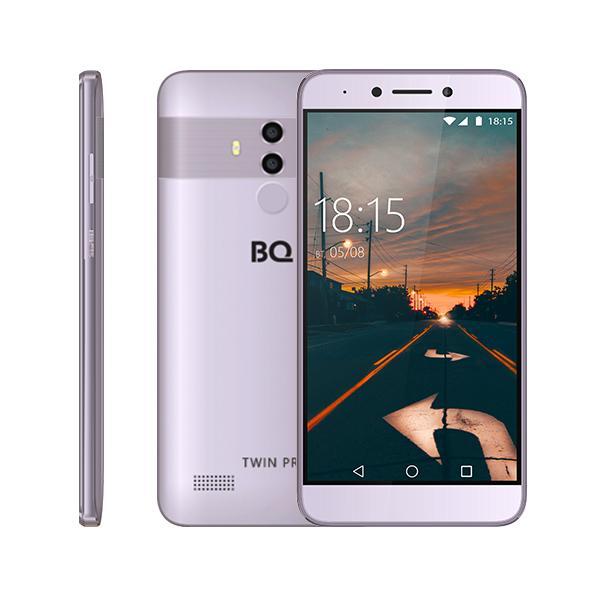 Смартфон с Full HD экраном и увеличенной памятью RAM и ROM! BQ-5517L TWIN PRO