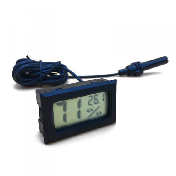 ЖК-цифровой термометр гигрометр измеритель влажности с выносным датчиком