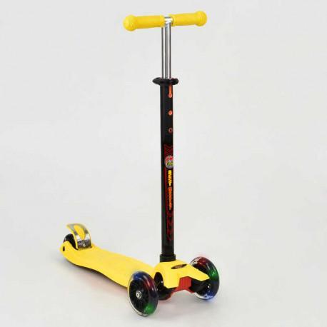 Самокат 466-113 / А 24634 Best Scooter MAXI (желтый)