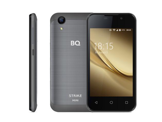 Мощный и компактный смартфон BQ-4072 Strike Mini
