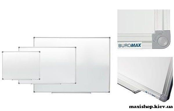 Доска магнитная Buromax 45х60см алюминиевая рамка (BM.0001)