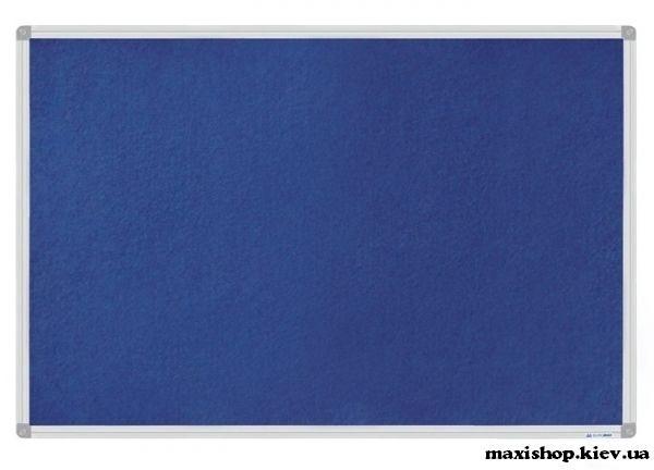 Доска магнитно-текстильная, 60x90см, ал. рамка BM.0020 Buromax