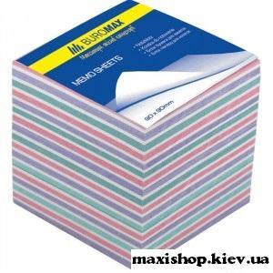 """Блоки бумаги для записей """"Зебра"""" 90х90х70мм., не скл. BM.2269"""