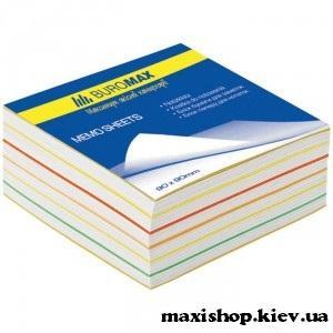 """Блоки бумаги для записей """"Радуга"""" 90х90х40мм, скл BM.2244"""