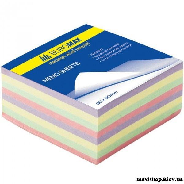 """Блоки бумаги для записей """"Декор"""" 90х90х40мм, не скл. BM.2285"""